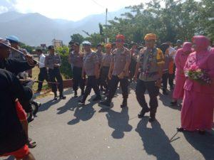 Kunjungi Polres Sigi, Kapolda Sulteng Minta Anggotanya lebih Modern