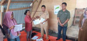 Penyintas Korban Bencana dapat Bantuan Alat Produksi Serta Dana Stimulan dari YSKK