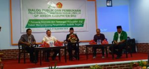 Pemkab Sigi dan GP Ansor Bahas Peluang Ekonomi Jelang Perpindahan Ibukota Negara