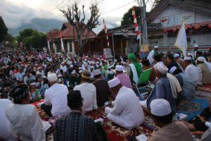 Puluhan Ribu Warga Palu Peringati Setahun Pascabencana di Lokasi Bencana
