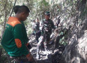 Akses Jalan Terbatas, Satgas TMMD Kesulitan Tembus Desa Terpencil