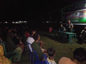 Tangkal Masuknya Narkoba ke Desa, Satgas TMMD Laukan Penyuluhan kepada Warga