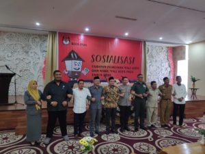 Sosialisasi Tahapan Pilwakot, KPU Palu Harap Balon Kada Aktif Berikan Pendidikan Politik