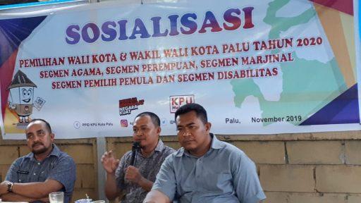 KPU Palu Mulai Sosialisasi Tahapan Pilwalkot