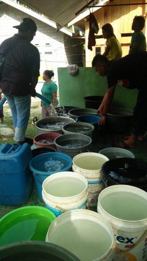 Banjir Lumpur di Sigi, Satgas PUPR Salurkan 10.000 Liter Air Bersih