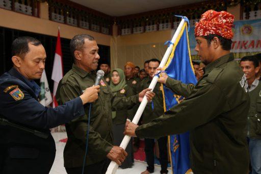 Walikota Palu Lantik Pengurus Karang Taruna dan Tim Gali Gasa