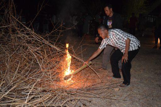 Walikota Palu Buka Kemah Silaturahmi Pekerja Seni dan Budayawan