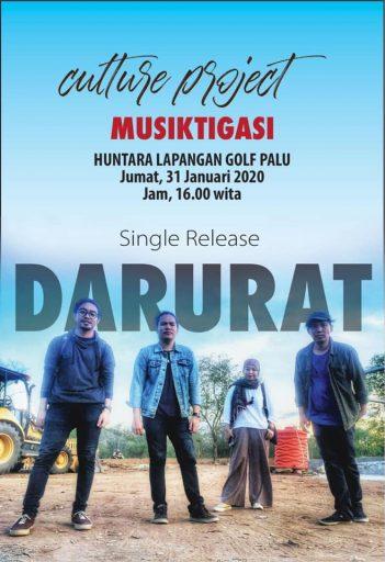 """""""Sumbangan"""" untuk Penyintas, Culture Project Rilis Single """"Darurat"""" di Huntara"""