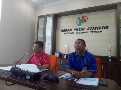 Selama Desember 2019, Kota Palu Inflasi 0,83 persen