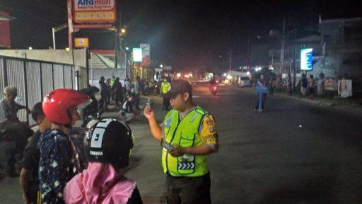 Razia Cipkon, Polsek Palu Selatan Amankan Puluhan Kendaraan dan Temukan Sabu-Sabu