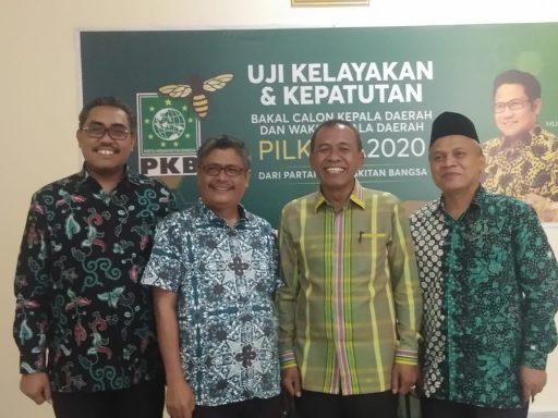 Enam Bakal Calon Walikota Ikuti Fit and  Propertest di DPP PKB