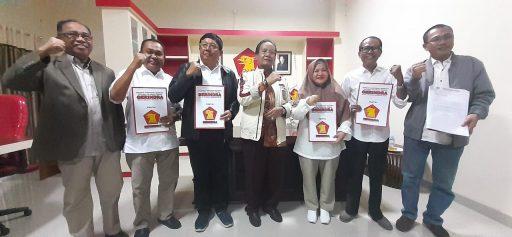 Gerindra Sulteng Serahkan Mandat dan Rekomendasi Usungan Pilkada Serentak, Simak Nama-namanya