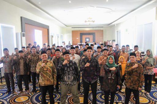 40 PPK Kota Palu Dilantik, Ketua KPU Ingatkan Kurangi Aktivitas di Warkop