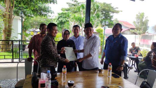 Aristan Serahkan CV ke PKS Palu untuk Mendapat Rekomendasi Pencalonan