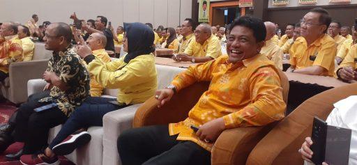 Nama Hidayat Lamakarate 'Berkibar' di Musda Golkar Sulteng