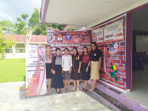 Tingkatkan Partisipasi Pemilih Pemula, KPU Poso Launching Pojok Sang Simar