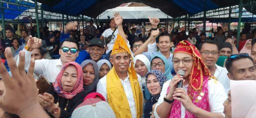 Silaturhami Akbar di Donggala, Anwar Hafid dan Pasha Ungu dapat Sambutan Hangat Warga