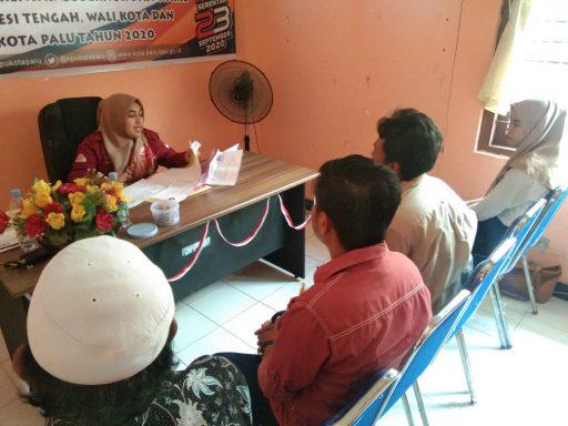 30 Calon PPS Kecamatan Palu Barat Ikuti Tes Wawancara