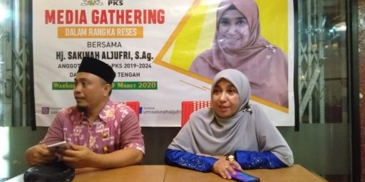 Sakinah Aljufrie : Wartawan adalah Sahabat Terdekat Kita