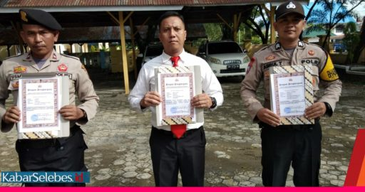 Kapolres Pimpin Harkesnas, Tiga Personil Polres Morowali Diberikan Penghargaan