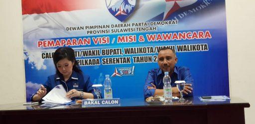 Maju Pilkada Poso, Verna-Yasin Tawarkan Kemandirian Tata Kelola dan Agribisnis di Demokrat Sulteng