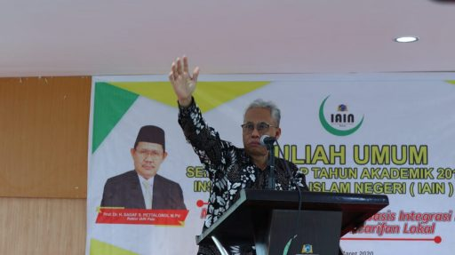 IAIN Palu Hadirkan Guru Besar UIN Sunan Kalijaga Bahas Integrasi Moderasi Islam Keilmuan