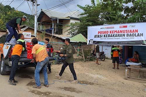 ACT Sulteng Bergerak, Kirim Sukarelawan dan Logistik ke Lokasi Banjir Lengkeka