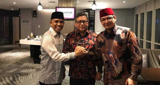 Bertemu Hasto, Anwar Hafid-Pasha Optimistis Dapat Rekomendasi PDIP