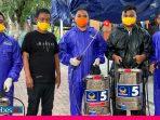 Rusdy Mastura Lepas Tim Pasukan Semprot Disinfektan Partai NasDem