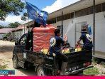 Garda Pemuda Nasdem Sigi dan FPC Semprot Disinfektan Rumah Warga