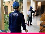 Pengelola Hotel Semprot Disinfektan Cegah Covid-19
