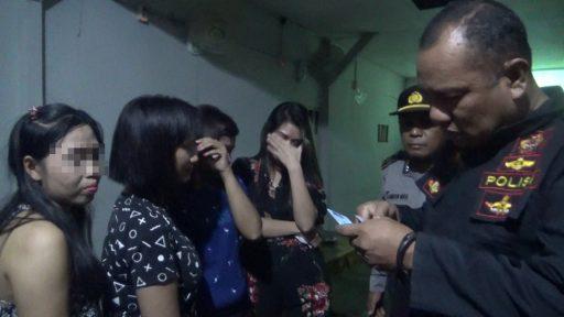 VIDEO : THM di Eks Lokalisasi Tondo Kiri Dirazia Polisi