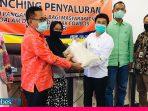 Terdampak Covid-19, Masyarakat Kurang Mampu di Sigi dapat Bantuan Pangan dari Pemda Sulteng