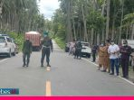 Lima Titik Perbatasan Jalan Masuk Kabupaten Poso Diberlakukan Buka Tutup