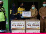 Bantu Penanganan Covid-19, CPM Salurkan APD ke Dinkes Sulteng
