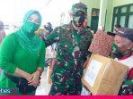 Karya Bhakti TNI 2020 Memutus Mata Rantai Covid-19, Dandim: Alhamdulillaah Masih Zona Hijau