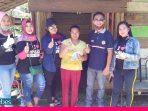 Juara Lomba Foto Pehabala Turun Jalan Bagikan Masker Gratis