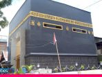 Masjid Berbentuk Ka'bah Daya Tarik Baru di Kota Palu