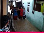 Hujan Deras Air Sungai Meluap, Warga Poso Kebanjiran