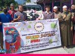 SKPI Touna Bagikan Sembako Bagi Warga Karantina Dampak Covid-19