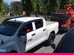 Ada Warga yang Positif Covid-19, Tim Gabungan Fokus Semprot Dua Kelurahan di Palu