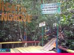 Karena Social Distancing, Kawasan Wisata Mangrove Donggala Sepi Pengunjung
