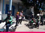 Jum'at Berkah, Dishub Sulteng Bagikan Makanan Gratis Buat Ratusan Ojol