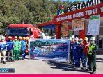 Pertamina Fuel Terminal Tolitoli Salurkan Perdana Produk Pertamax dan Pertalite