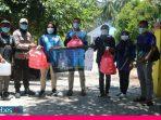 Peduli Tugas Gugus Covid-19, Komunitas Runners Poso Bagikan Makanan