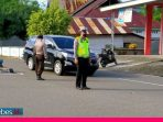 Lalulintas dan Pencegahan Covid-19, Polres Morowali Strong Point Setiap Hari