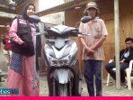 Seorang Pemulung di Palu dapat Bantuan Sepeda Motor dari ACT Sulteng