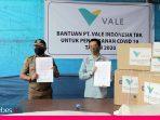 Pencegahan Covid-19, PT. Vale Indonesia Tbk Serahkan Bantuan APD ke Pemda Morowali