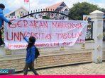 Gerakan Mahasiswa UNTAD (GMU) Tolak Pembayaran UKT dan Wisuda Online selama Masa Pandemi Corona