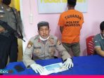 Polisi Amankan Tersangka Pencurian Emas, Residivis Kasus Penganiayaan Pernah di Penjara di Lapas Poso